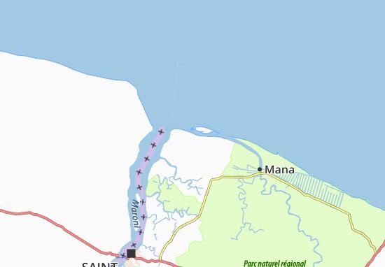 Awala-Yalimapo Map
