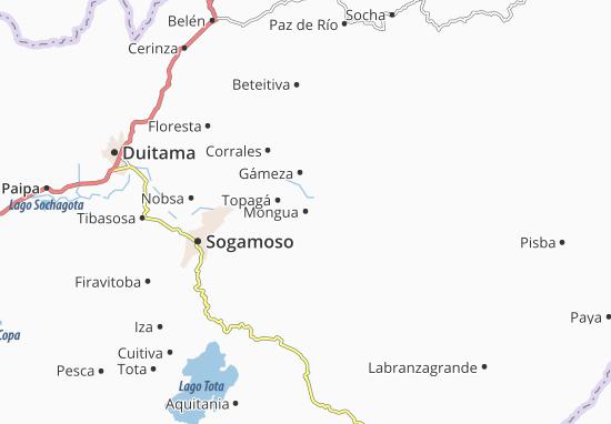 Carte-Plan Mongua