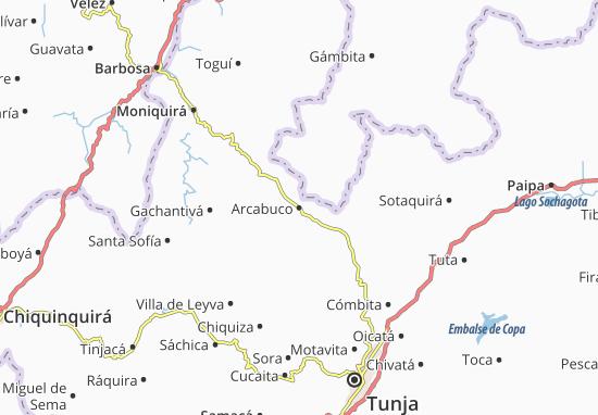Mapas-Planos Arcabuco