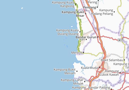 Pulau Telor Map