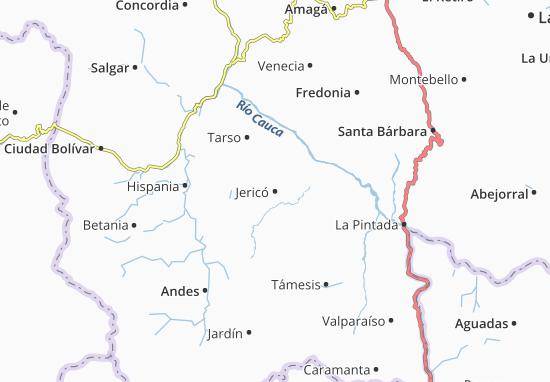 Mappe-Piantine Jericó
