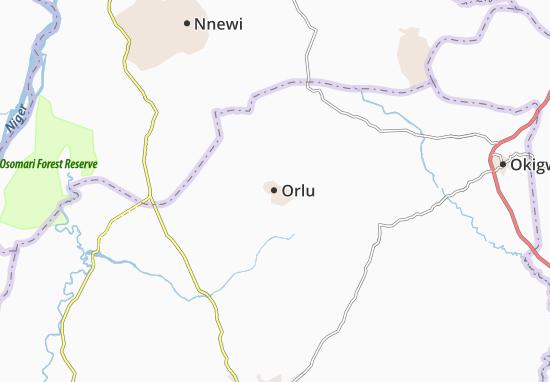 Carte-Plan Orlu