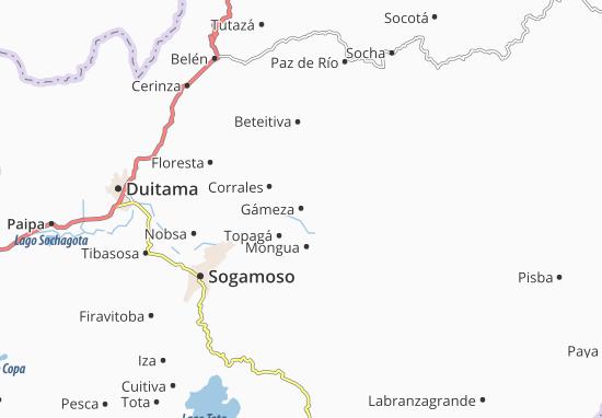 Carte-Plan Gámeza
