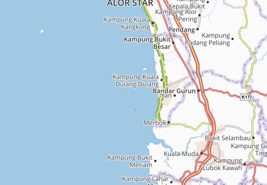 Pulau Songsong Map