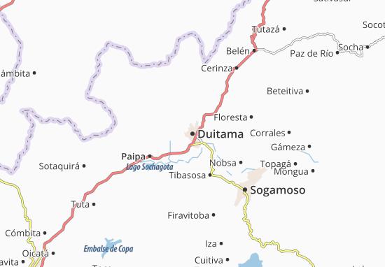 Mapa Plano Duitama