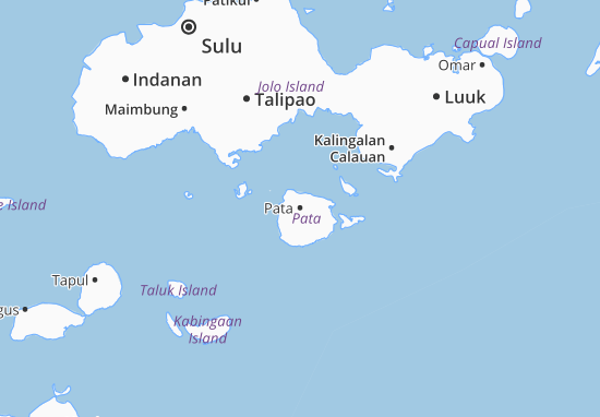 Kaart Plattegrond Pata