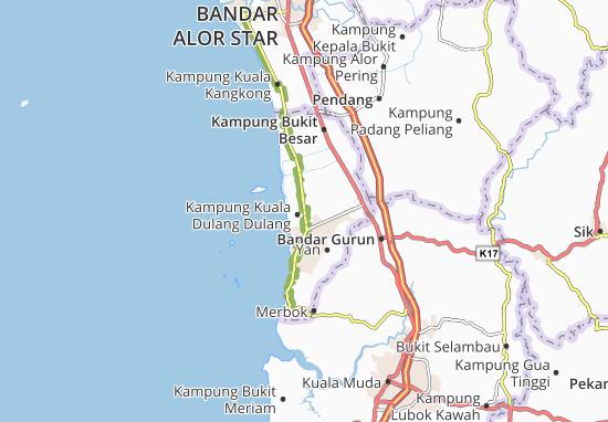 Kampung Kuala Dulang Dulang Map