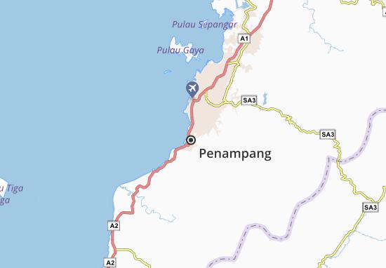 Carte-Plan Penampang