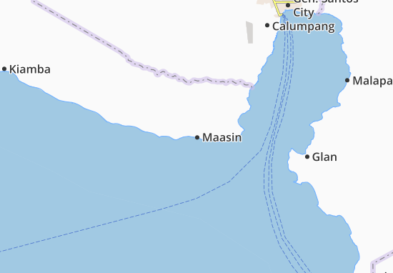 Mappe-Piantine Maasin