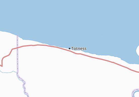 Mapa Plano Totness