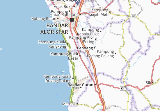 Kampung Bukit Besar Map