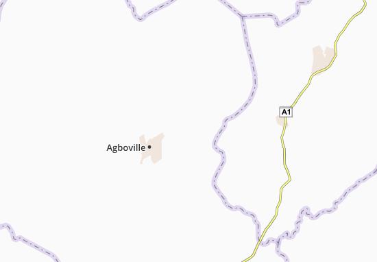 Carte-Plan Agouahin