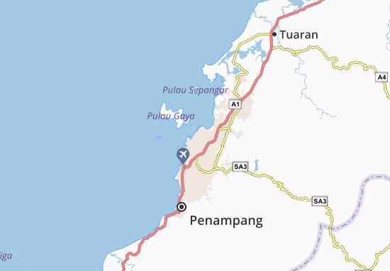 Carte-Plan Kota Kinabalu