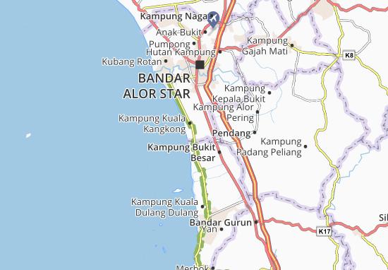 Kampung Sala Kechil Map