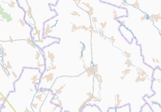 Mapas-Planos Kryshtopivka