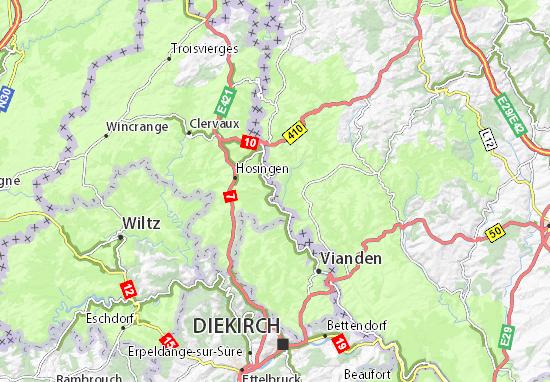 Mapa Plano Eisenbach