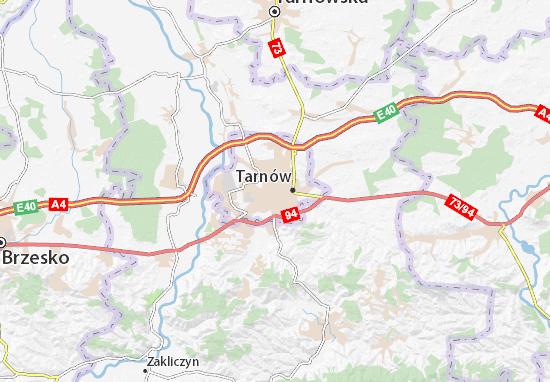 Tarnów Map