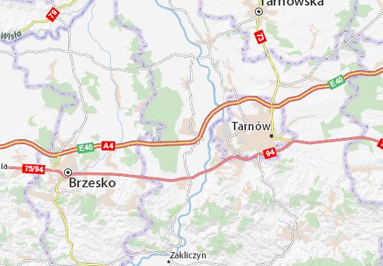 Mapa Wierzchosławice