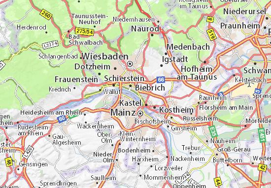 Carte-Plan Amöneburg