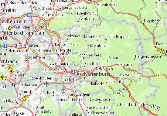 Carte-Plan Johannesberg