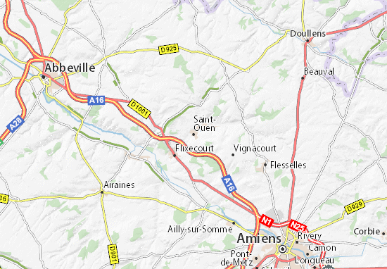 Saint-Ouen Map