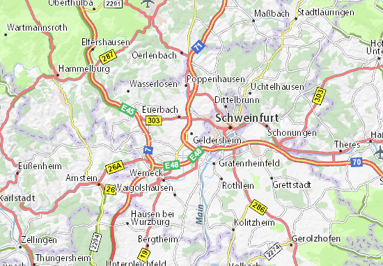 Carte-Plan Geldersheim