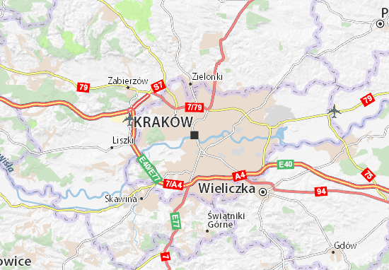 Mappe-Piantine Kraków