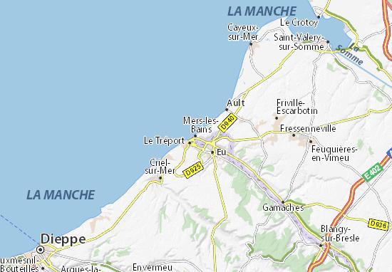 Mapa Plano Mers-les-Bains