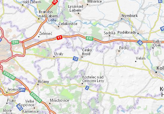 Mapas-Planos Český Brod