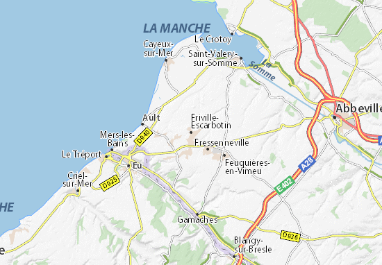 Mappe-Piantine Friville-Escarbotin