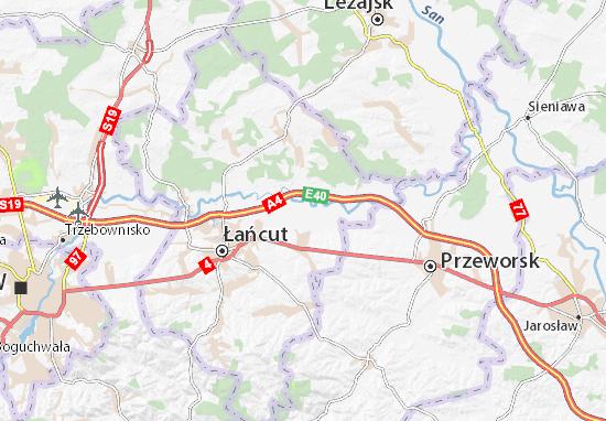 Mapa Białobrzegi