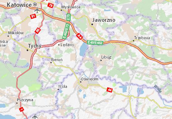 Karte Stadtplan Chełmek