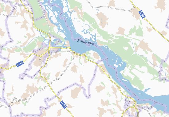 Mappe-Piantine Khalep'ya