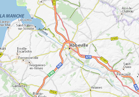 Abbeville Map