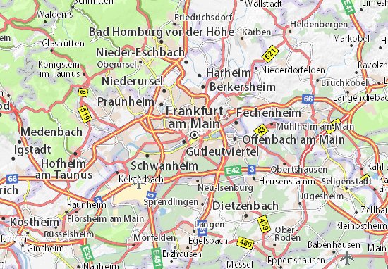 Mappe-Piantine Frankfurt am Main