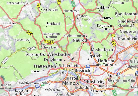 Carte-Plan Alt Klarenthal