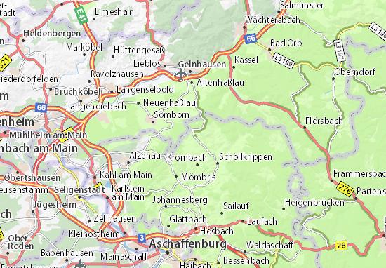 Mapas-Planos Geiselbach