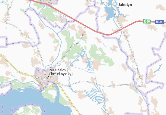 Kaart Plattegrond Strokova
