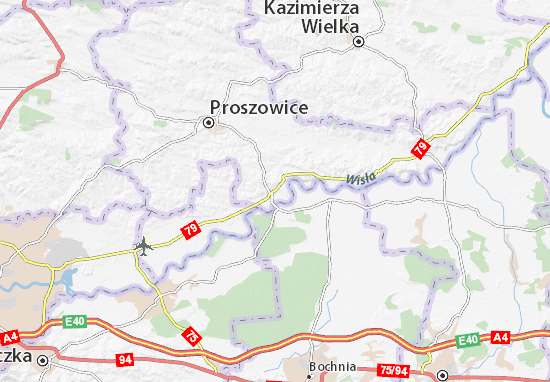 Mapa Nowe Brzesko
