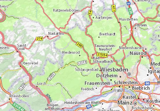 Mapas-Planos Heidenrod