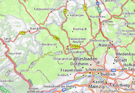 Carte-Plan Bad Schwalbach