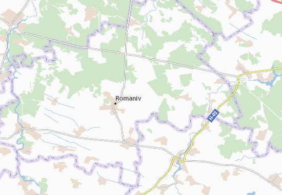 Mappe-Piantine Yasnohorod