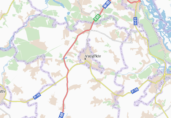 Vasyl'kiv Map