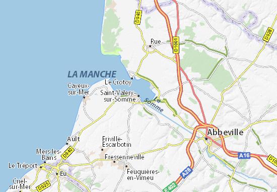 Carte-Plan Saint-Valery-sur-Somme