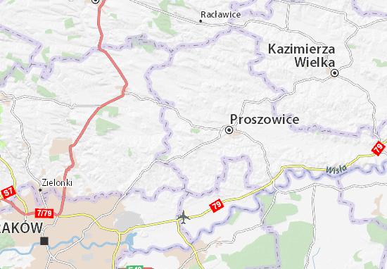 Mapa Koniusza