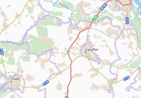 Zdorivka Map