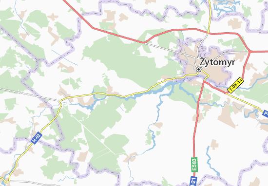 Mapa Plano Korchak
