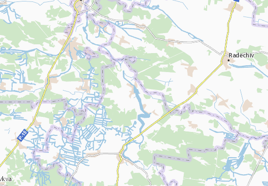 Mapas-Planos Staryi Dobrotvir