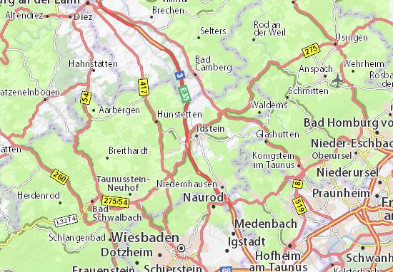 Idstein Map