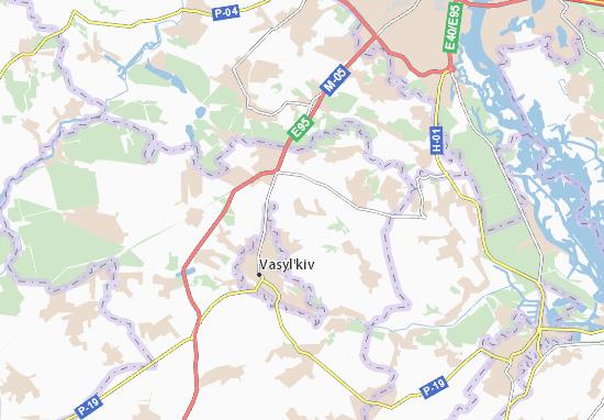 Carte-Plan Krushynka